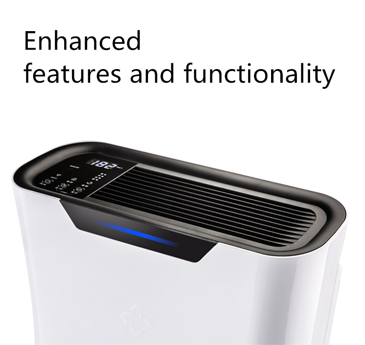 china cost-effective little white 2.0 household laboratory dust PM2.5 air cleaner
