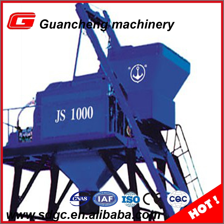 Hot selling concrete mixer factory , concrete mixer JS1000 for sale in canada