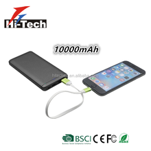 Portable Fast Charging QC3.0&Type C Power Bank 10000mAh