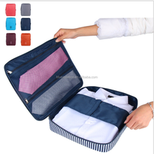 factory Shirt and Ties Storage Bag Organizer Wrinkle Free Shirt Travel Packing Clothes
