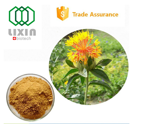 100% natural GMP OEM factory supply good effect organic Safflower Extract,saffron extract powder safflower concentrate