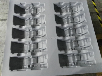 ABS/PMMA Mixed Sheet Vacuum Forming Plastic Cover for Machine