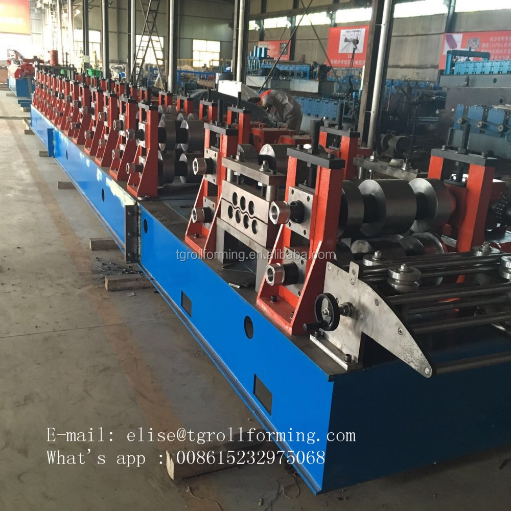 3Wave Highway Guardrail Roll forming Machine