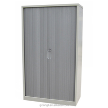 Longli Beige steel roller shutter door 3 drawers office filing cabinet