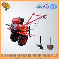 multi-function soil ploughing hand farm tractor machine