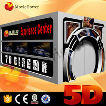 6DOF dynamic seat cabin/box with 5d cinema