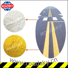 High Quality Yellow Road Marking Thermoplastic Paint in Reflective Material