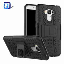 Outdoor Shockproof Dual Layer TPU Hybrid Rugged Armor PC Slim Hard Back Case Cover For Asus Zenfone 3 Max ZC553KL