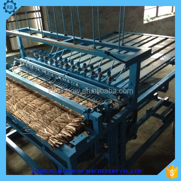 Best price motor driven wheat straw weaving machine