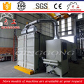 Abrasive blasting room heavy castings sandblasting booth/cabinet/container for sale