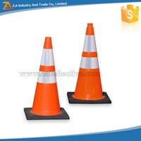 Custom Logo Cheap Rubber Personalized Reflective Vinyl Sticker Paper glowing Traffic Cone Sleeve