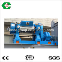 Xinda XKP double roller rubber grinder for sale uesd tire recycling plant