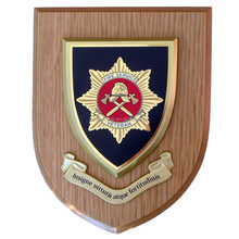 Customized wooden Shield plaque