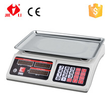 30kg/5g electronic price computing scales with curve platter