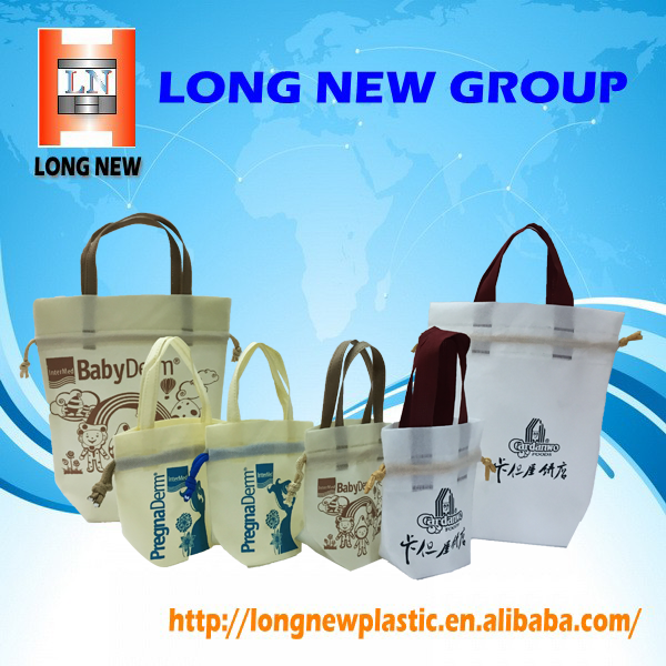 OEM Cosmetic Printing Reusable Gift Non Woven Shopping Tote Bag