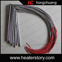 110v AC 200w stainless steel micro cartridge heater with thermocouple