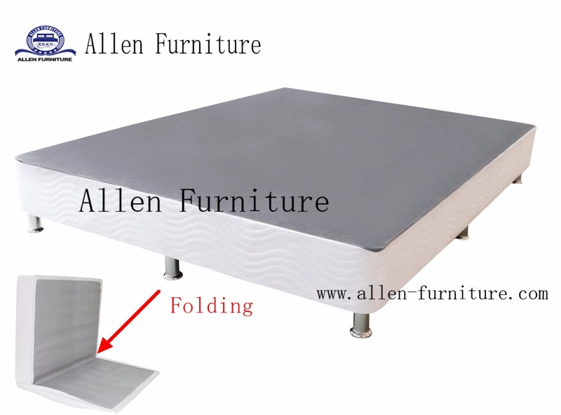 High Profile Folding Metal Box Spring, No Assembly Required, Twin to Cal King