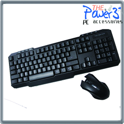 2016 Fashionable design razer Multimedia Wifi Wireless Keyboard And Mous for laptop