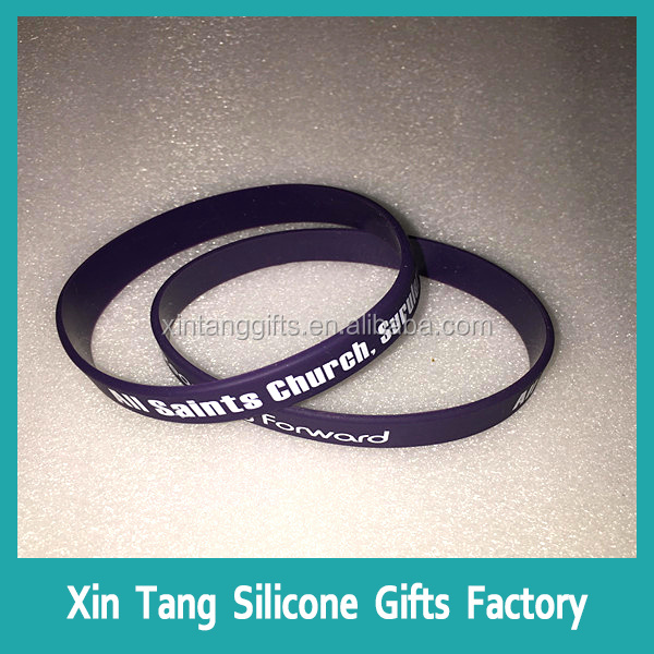 professional manufacturer Sport Wrist Band, Silicone Bracelets, Colorful Silicon Custom Wristbands