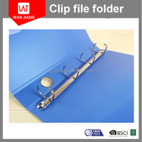 OEM PP 2 Hole Ring Binder A4 Plastic File Folder Cover