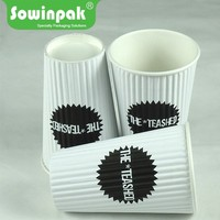 Sowinpak Good printing disposable paper cold / hot tea or coffe drink cup
