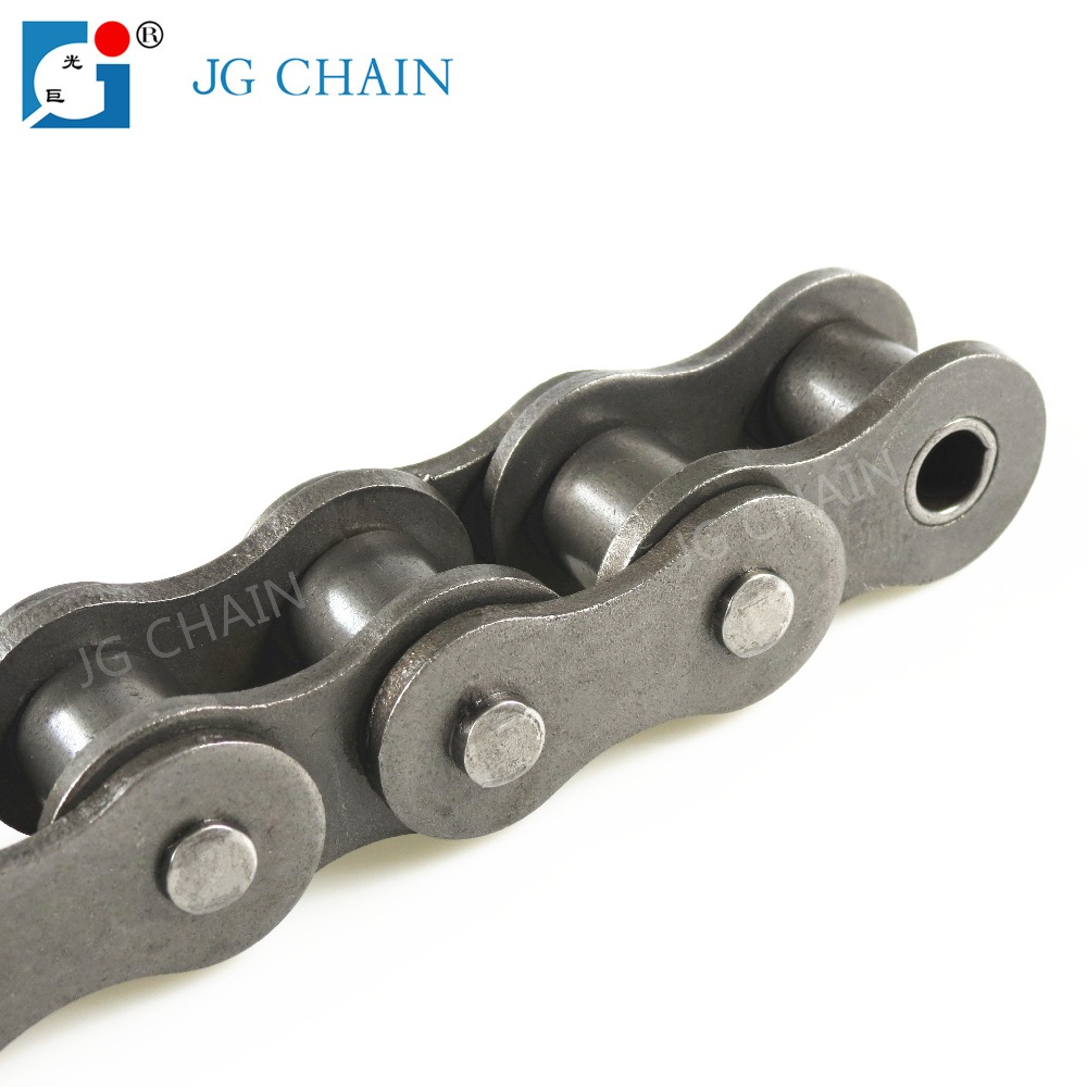 Durable british standard carbon b series indusrty transmission roller chains 16b 1
