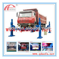 CE,ISO workshop mobile column four post truck/bus repair hoist