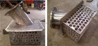 SS Strainer 304 Spool pipe and Flange