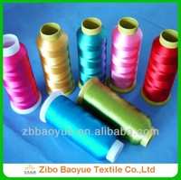 100% rayon reflective embroidery thread