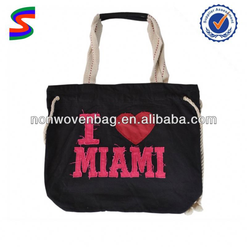 2011 Fashion Organic Cotton Bag Foldable Cotton Shopping Bag