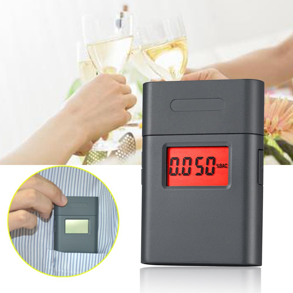 Best abs meterial breathalyzer alcohol tester, alcohol analyzer with 360 degree rotary mouthpiece