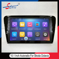 Hot Selling Autoradio For Octavia Skoda With Free Map/GPS/BT/WIFI/SWC