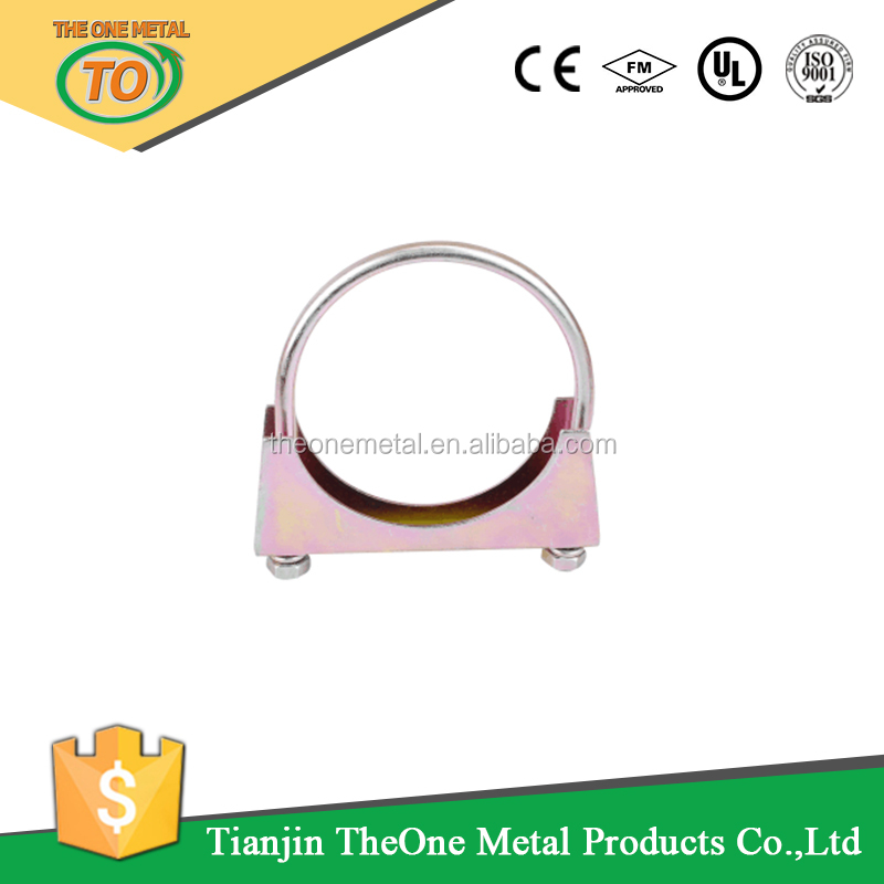 U bolt exhaust hose clamp