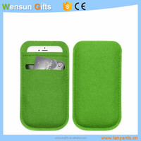 Felt Phone cases for promotion custom printed logo