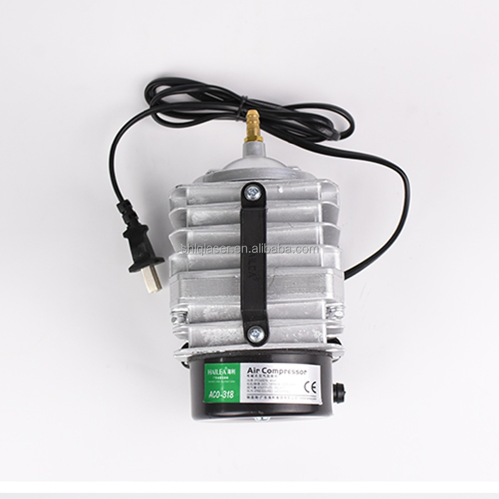 Shanghai Leiquan CO2 laser machine equipment spare parts mini air compressor