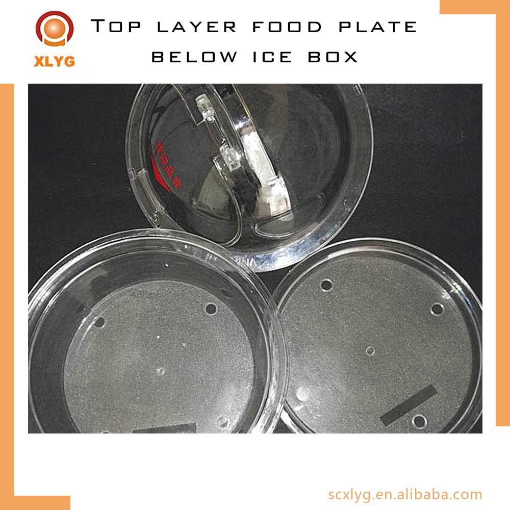 Floor stand food tasting rack