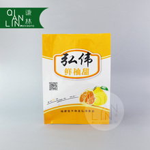 High quantity fruit packaging bag with colorful printing
