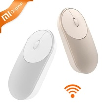 Original For Xiaomi Mouse Wireless Portable Optical Mouse 4.0 RF 2.4GHz Dual Mode Connect for Laptop pc with Battery