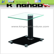 cheapest rectangular glass pu cover Coffee Table