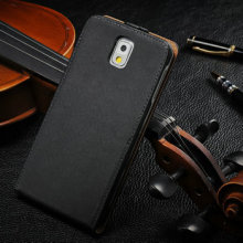 Smooth leather case for samsung note3 n9000, leather case for samsung note 3, flip cover for samsung galaxy note 3 n9005