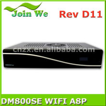 sim a8p sunray 800se hd Satellite Receiver Dm800se wifi sim a8p Enigma 2 Linux DVB-S/S2 set top box