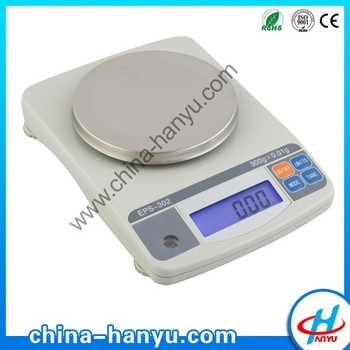 EPS cheap chinese laboratory digital electronic round pan balance with RS232