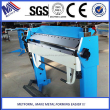 electric box making by manual lost cost sheet metal folding machine from Factory