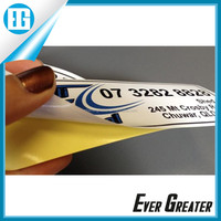 Best price custom cast coated sticker paper,sticker paper manufacturers