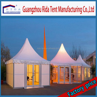 Rida 2016 newest design 6x6m pagoda tent for sale