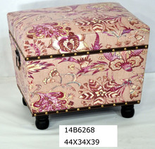 french style cooler ottomans for storage