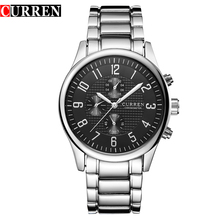 Curren Wristwatch 2017 Quartz Men Watches Top Brand Luxury Famous Man Wrist Watch 8046