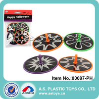 HLW mini plastic Dia 6cm Spin tops toy