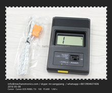 FAST THERMOMETER QUICK THERMOCOUPLE TM 902C Digital LCD K Type Temperature line detector Reader Meter