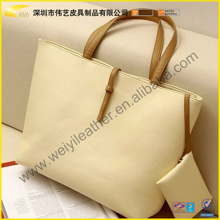 Wholesale Fashion Funy Cheap The Most Popular PU Leather Women Fashion Handbag 2014 For Leather Luxury Brand Handbag